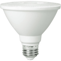 850 Lumens -  3000 Kelvin - LED - PAR30 Short Neck - 11 Watt - 75W Equal - 40 Deg. Flood - CRI 80 - PLT-11041