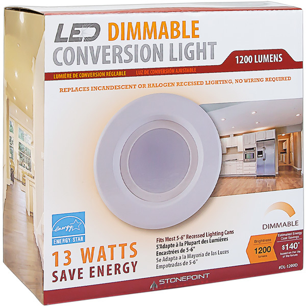5-6 in. Retrofit LED Downlight - 13W Image