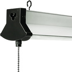 Integrated LED Shop Light with Lens - 4 ft. Image