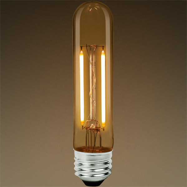 LED T9 Tubular Bulb - Color Matched For Incandescent Replacement Image