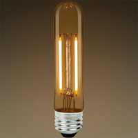 LED T9 Tubular Bulb - Color Matched For Incandescent Replacement - Clear - 2.5 Watt - 25W Equal - 250 Lumens - CRI 80 - Bulbrite 776608