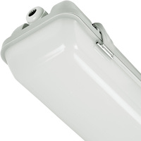 4200 Lumens - 2 ft. LED Vapor Tight Fixture - 30 Watt - 5000 Kelvin - Frosted Lens - IP65 Rated - 120-277V - 5 Year Warranty - PLTS41211