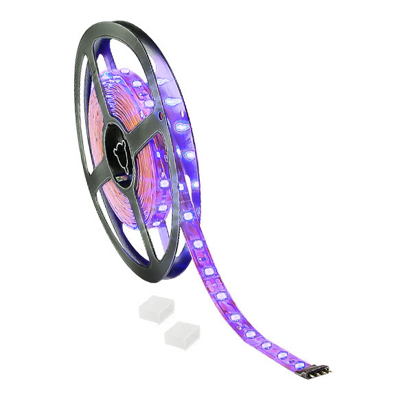 16 ft. - Blacklight UV - LED Tape Light - Dimmable - 24 Volt Image