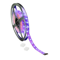 16 ft. - Blacklight UV - LED Tape Light - Dimmable - 24 Volt