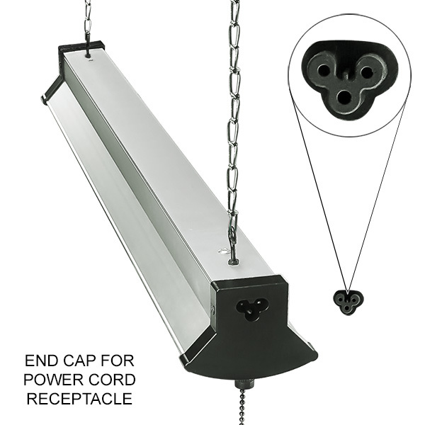 LED Shop Light with Lens - 2 ft. Image