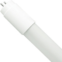5000 Kelvin - 2200 Lumens - 15W - T8 LED Tube Hybrid - F32T8 or F40T12 Replacement -  Direct Wire or Plug and Play Installation - 120-277V