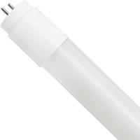 4 ft. T8 LED Tube - 2100 Lumens - 15 Watt - 5000 Kelvin - 120-277V - Ballast Must Be Bypassed - Single-Ended Power Must Use a Non-Shunted Socket - LifeBulb LBP8F2150B