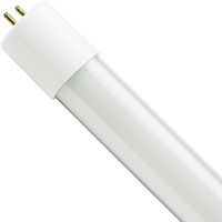 4 ft. T8 LED Tube - 1700 Lumens - 14W - 3000 Kelvin - 120-277V - Ballast Must Be Bypassed - Double-Ended Power Allows Use of Existing Sockets - Satco S9913
