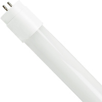 4 ft. T8 LED Tube - 1850 Lumens - 12 Watt - 5000 Kelvin - Works with Electronic Ballasts -  No Rewiring -  Plug and Play - 120-277V - TCP L12T8D5050K