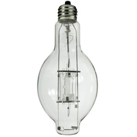 400 Watt - BT37 - Metal Halide - Protected Arc Tube - 4200K - ANSI M59/O - Mogul Base (EX39) - Base Up Burn - MP400/BT37/BU/4K - Plusrite 1042