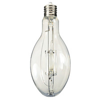 Plusrite 1563 - 400 Watt - ED37-P - Pulse Start - Metal Halide - Protected Arc Tube - 4200K - Mogul Base - ANSI M135/O - Base Up Burn - MP400/ED37/PS/BU/4K
