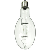 GE 45664 - 400 Watt - ED37 - PulseArc Multi-Vapor - Pulse Start - Metal Halide - Unprotected Arc Tube - 4000K - Mogul Base - ANSI M135/M157 - Vertical Base Up Burn - MVR400/VBU/HO/PA