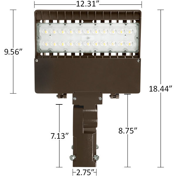 9600 Lumens - LED Area Light Image