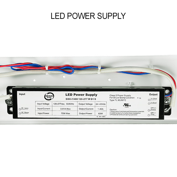 4 ft. LED Vapor Tight Fixture - 65 Watt Image