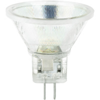 200 Lumens - 3000 Kelvin - LED MR11 - 1.6 Watt - 40 Deg. Flood - CRI 80 - 12V - GU4 Base - Satco S9550