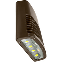 12,750 Lumens - LED Wall Pack - 150 Watt - 400W MH Equal - 5000 Kelvin - 120-277V - Lithonia OLWX2 LED 150W 50K DDB M2