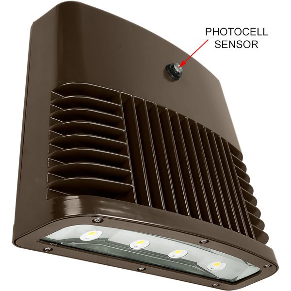 Lithonia OLWX2 LED 90W 40K 120 PE DDB - LED Wall Pack Image