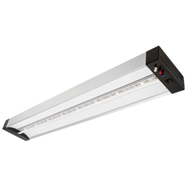 LED Grow Light Fixture - Lithonia GRWL 24IN 40K 80CRI SLV M4