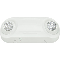 Emergency Light - LED Lamp Heads - 90 Min. Operation - 120/277V - Fulham FHEM12-W