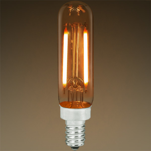 LED T6 Tubular Bulb - Color Matched For Incandescent Replacement Image