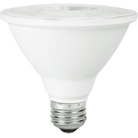 800 Lumens - 2700 Kelvin - LED - PAR30 Short Neck - 10 Watt - 75W Equal - 25 Deg. Narrow Flood - CRI 80 - Bulbrite 860412