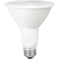 800 Lumens - 2700 Kelvin - LED - PAR30 Long Neck - 10 Watt - 75W Equal - 60 Deg. Wide Flood - CRI 80 - Bulbrite 860417