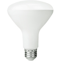 650 Lumens - 4000 Kelvin Cool White - LED BR30 - 9 Watt - 65W Equal - Dimmable - 120V - Bulbrite 772832