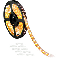 10 ft. - 3000K Warm White - LED - Waterproof Strip Light - 12 Volt - Submersible up to 6 feet
