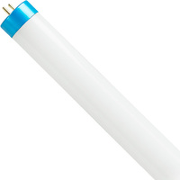 5000 Kelvin - 2200 Lumens - 15W - T8 LED Tube Hybrid - F32T8 Replacement - Direct Wire or Plug and Play Installation - 120-277V - Case of 25