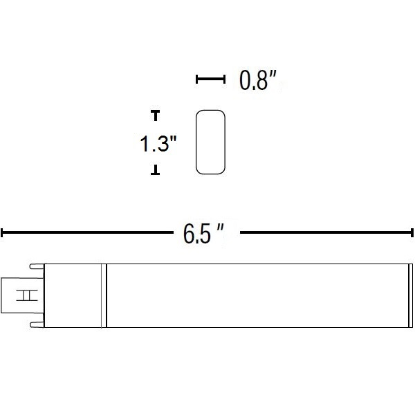 LED G23 PL Lamp - 2-Pin Image