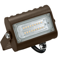 1700 Lumens - 5000 Kelvin - 15 Watt - Mini LED Flood Light Fixture - Landscape and Wall Washer - Height 4.66 in. - Width 4.25 in. - Depth 1.5 in. - 120-277V - 5 Year Warranty - 31% Brighter Than a 50W Metal Halide and Uses 70% Less Energy