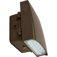 1300 Lumens - 5000 Kelvin - 12 Watt - LED Wall Pack - 37% Brighter Than a 50W MH and Uses 76% Less Energy - 120-277 Volt