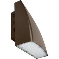 8800 Lumens - LED Wall Pack - 80 Watt - 400W MH Equal - 5000 Kelvin - 120-277V - PLT JD-WMK801-CW