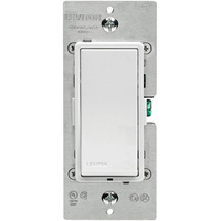 Interchangeable White, Ivory and Light Almond Faceplates - Vizia Digital Light Swtich - 1.5 Amp - 3-Way