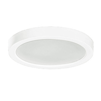 10 Watt - 5.5 in. LED Ultra Thin Round Ceiling Fixture - 3000 Kelvin - 120V - PLT RCR5L10W30KWH