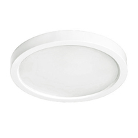 15 Watt - 7 in. LED Ultra Thin Round Ceiling Fixture - 3000 Kelvin - 120V - PLT RCL7L15W850L30KWH