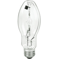100 Watt - BD17 - Pulse Start - Metal Halide - Unprotected Arc Tube - 3200K - ANSI M90 - Medium Base - Universal Burn - MXR100/U/MED - GE 18680