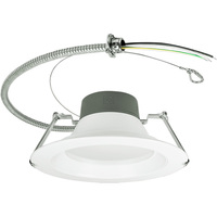 Adjustable Lumen Output 1860/2325/2975 - 9.5 in. Retrofit LED Downlight - 23.5/32/45W - 250W Equal - 2700 Kelvin - Stepped Baffle Trim - 120-277V - Green Creative 57878