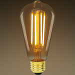 LED Edison Bulb - Color Matched For Incandescent Replacement Image