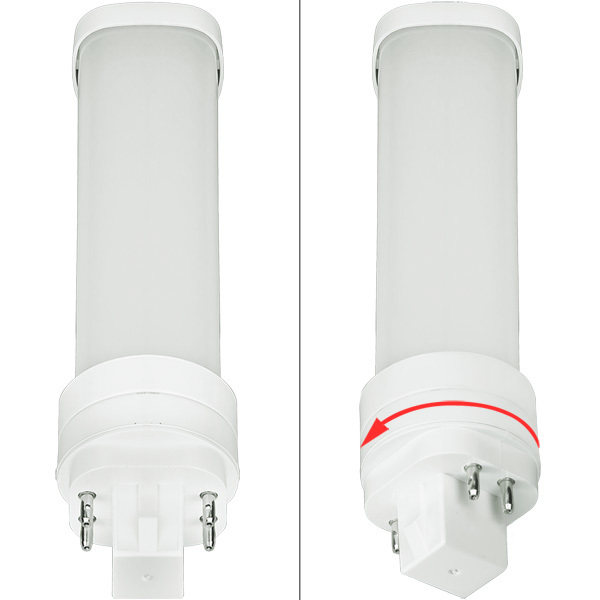LED G24 PL Lamp - 4-Pin 5.5 Watt Image