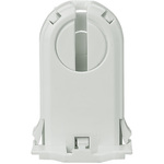 Leviton 13660-SWP, T8 or T12 Turn-Type Lampholder, Medium Bi-Pin Socket, Non-Shunted