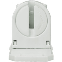T5 - Turn-Type Lampholder - Mini Bi-Pin Socket - Non-Shunted - Snap In or Slide On