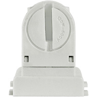 Retro-Fit Lampholder for T8 to T5 Conversion - Short Profile - 5 Pack - For Programmed Start Ballasts - Non-Shunted - Leviton 13654-EXS
