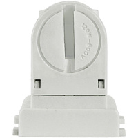 Retro-Fit Lampholder for T8 to T5 Conversion - Long Profile - 5 Pack - For Programmed Start Ballasts - Non-Shunted - Leviton 13654-EXL