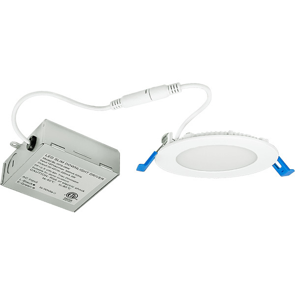 4 in. Ultra Thin LED Downlight - 9W Image