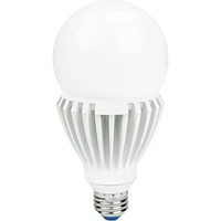 3200 Lumens - 25 Watt - High Output LED - A23 Shape - 3000 Kelvin Halogen White - Omni-Directional - 120-277V -Green Creative 97972