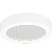 Surface Mount Downlight - LED - 65 Watt Incand. Equal - 4000 Kelvin - Fits 6 in. Recessed Housings - Green Creative 58262