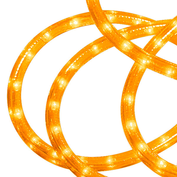 10 ft. - LED Rope Light - Amber Image