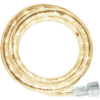 Incandescent - 24 ft. - Rope Light - Warm White (Clear) - 120 Volt - Includes Easy Installation Kit - Signature 13MM-CL-24KIT
