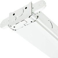 4 ft. x 5.5 in. - Fluorescent Strip Fixture - Side Mount - Operates 2 F32T8 Lamps - Lamps Not Included - 120-277V - PLT SM232MV